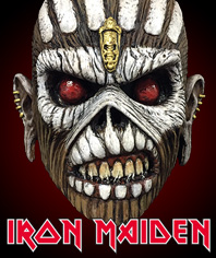 Iron Maiden Eddy halloween Mask Collection