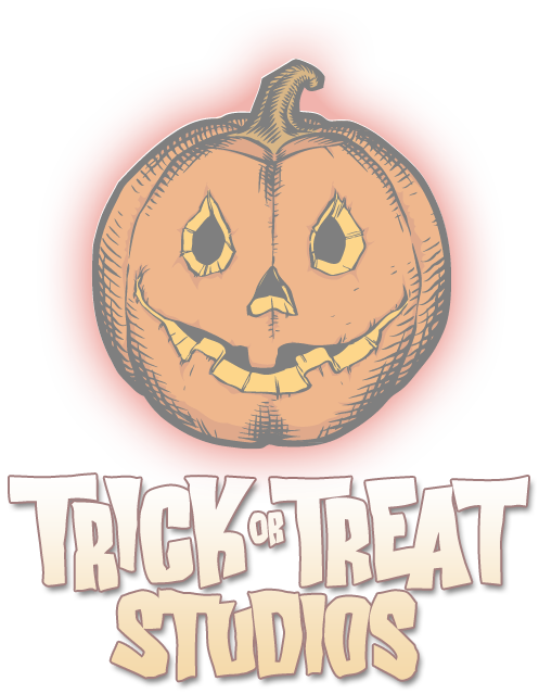 TRICK OR TREAT STUDIOS 2018 CATALOG T-SHIRT